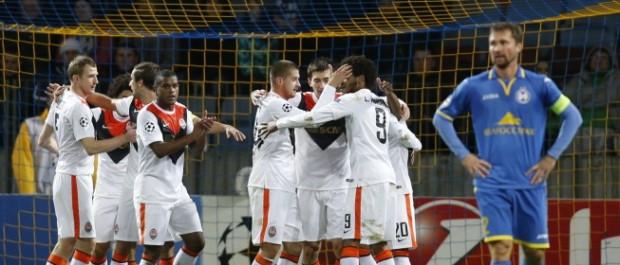 El Shakhtar de Luiz Adriano se da un festín a costa del débil Bate   Liga de Campeones   AS.com