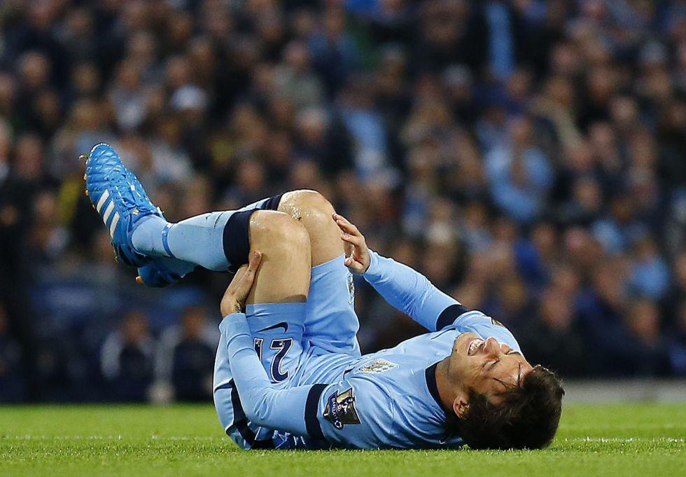 Silva se lesiona en una rodilla y el City cae en la Copa de la Liga | Selección | AS.com