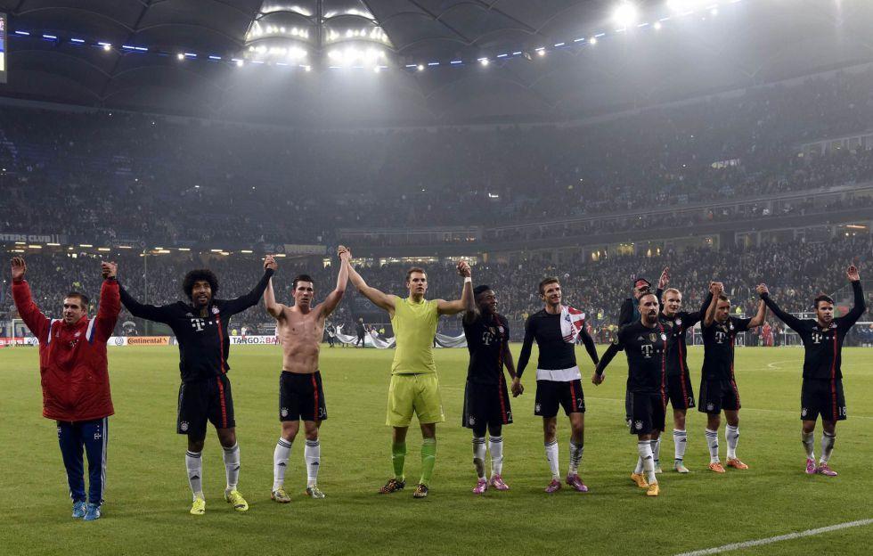 El Bayern Múnich vence al Hamburgo y pasa a octavos | Internacional | AS.com