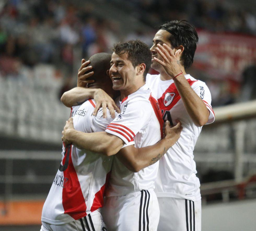River reaccionó y venció 2-1 a Estudiantes en la ida de cuartos   Internacional   AS.com