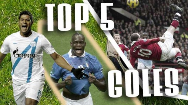 Top 5 de los mejores goles en otros campeonatos