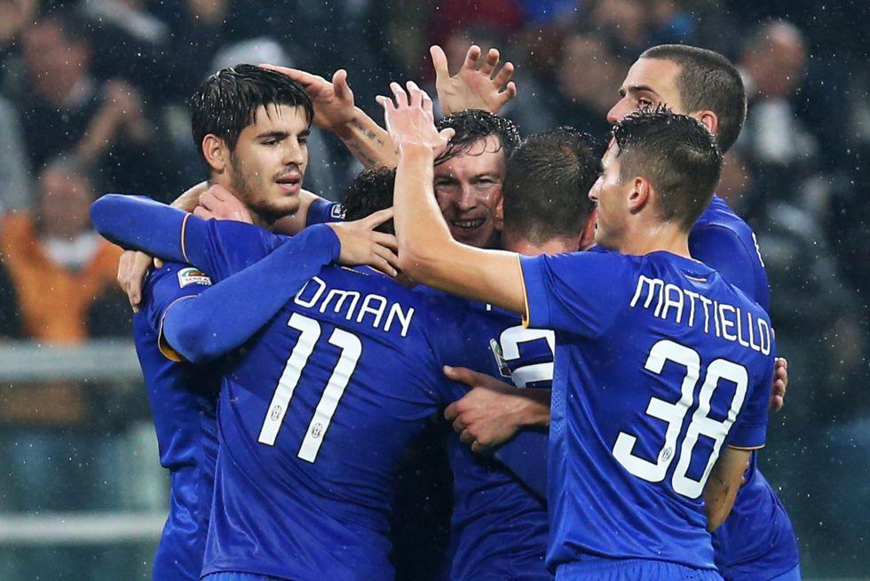 Dobletes de Morata y Llorente en la goleada de la Juventus   Internacional   AS.com