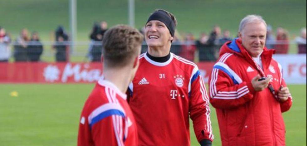 Schweinsteiger se entrena de nuevo cuatro meses después | Internacional | AS.com
