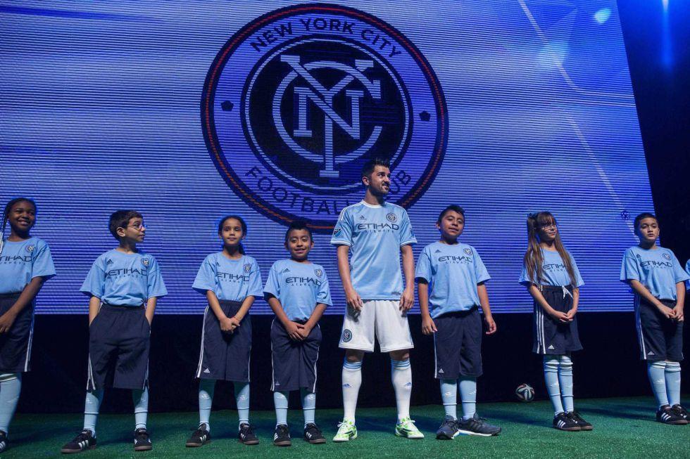 David Villa presentó la camiseta de su nuevo equipo | Internacional | AS.com