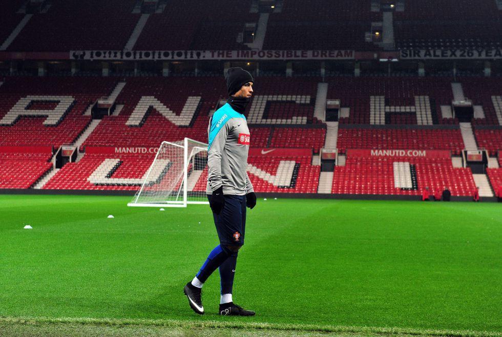 Cristiano Ronaldo contra Leo Messi: dos titanes en Old Trafford   Internacional   AS.com