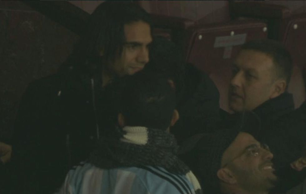 Falcao en Old Trafford | Internacional | AS.com