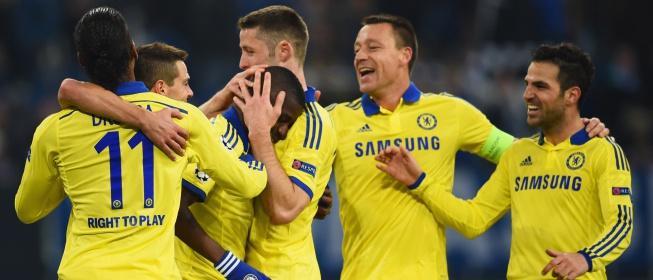 El Chelsea pasa por encima del Schalke para meterse en octavos   Liga de Campeones   AS.com