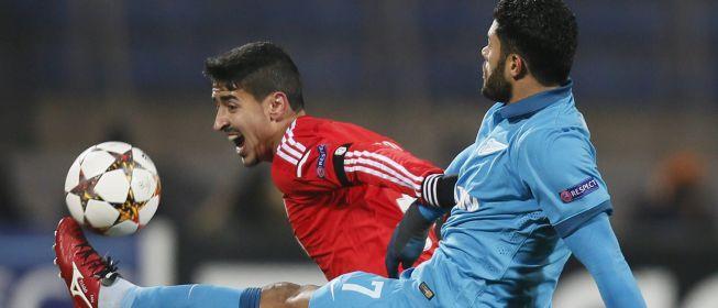 Danny pone al Zenit a tiro de los octavos y elimina al Benfica | Liga de Campeones | AS.com