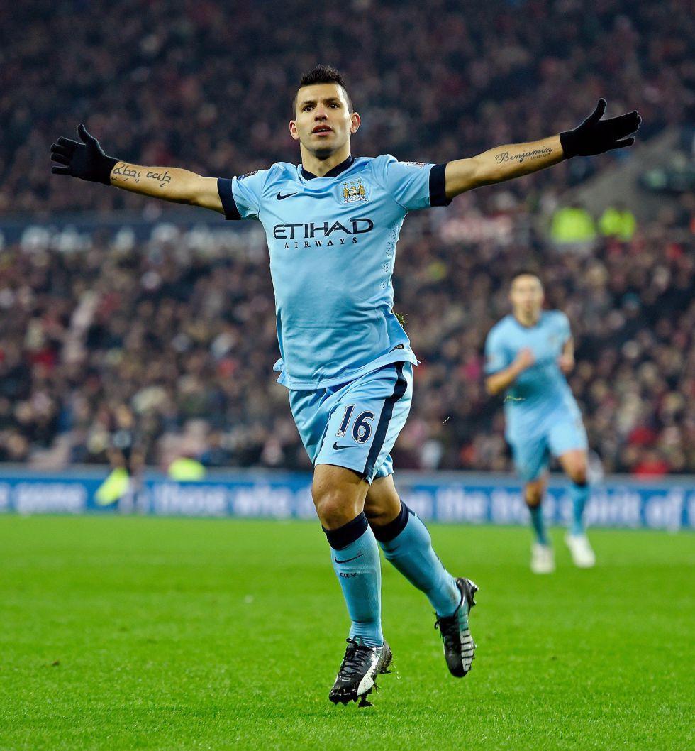 Goleada del City en Sunderland con doblete del Kun Agüero | Internacional | AS.com