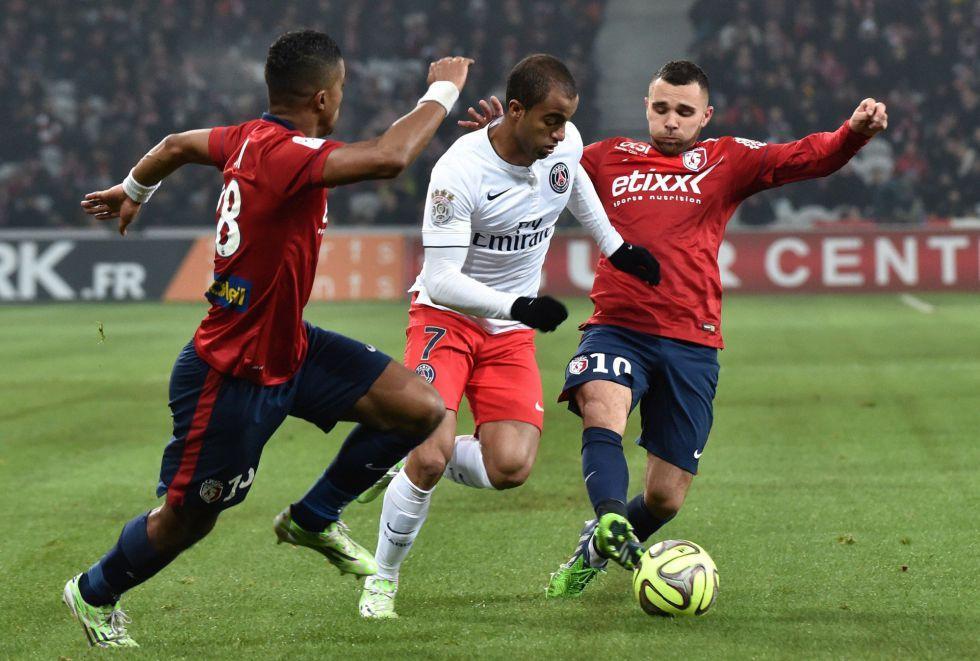 El Lille sorprende y deja al París Saint Germain sin liderato   Internacional   AS.com
