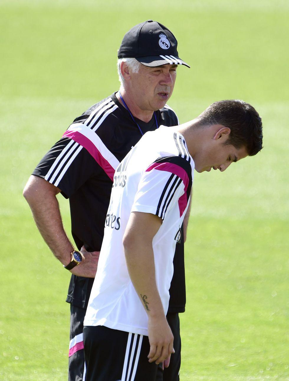 Ancelotti casi descarta a James: