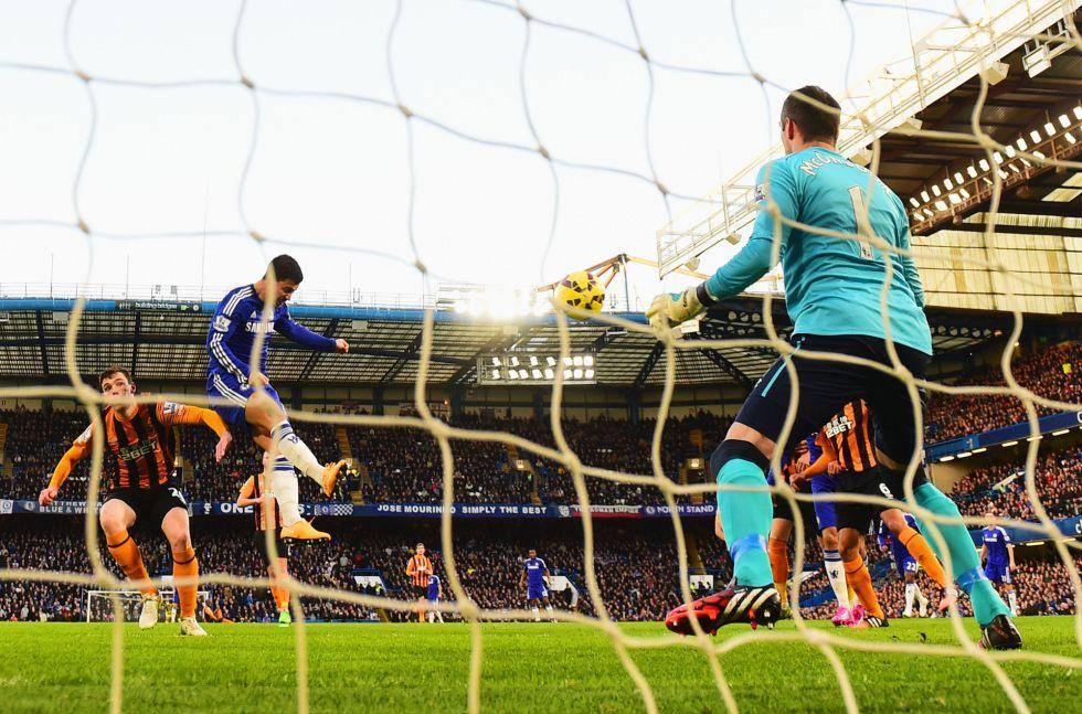 Hazard y Diego Costa dan la victoria al Chelsea de Mourinho   Internacional   AS.com