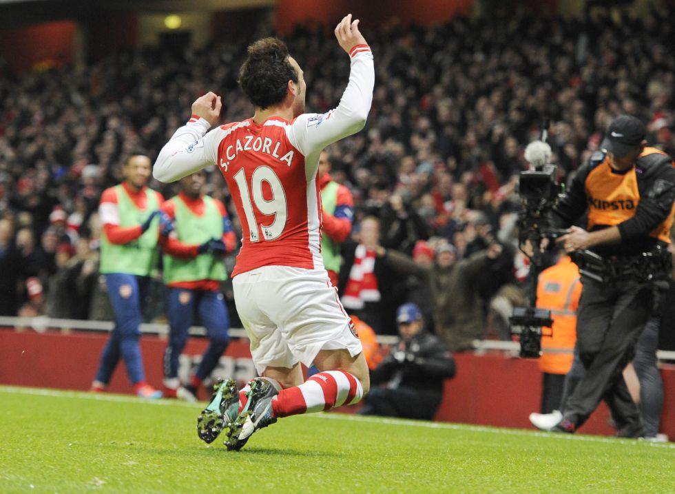 Doblete de Cazorla y paliza del Arsenal al Newcastle | Internacional | AS.com