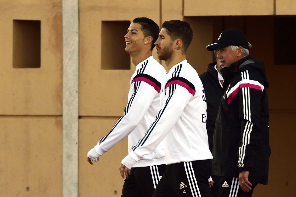 Ramos se entrenó con el grupo; James ya está a punto | Internacional | AS.com