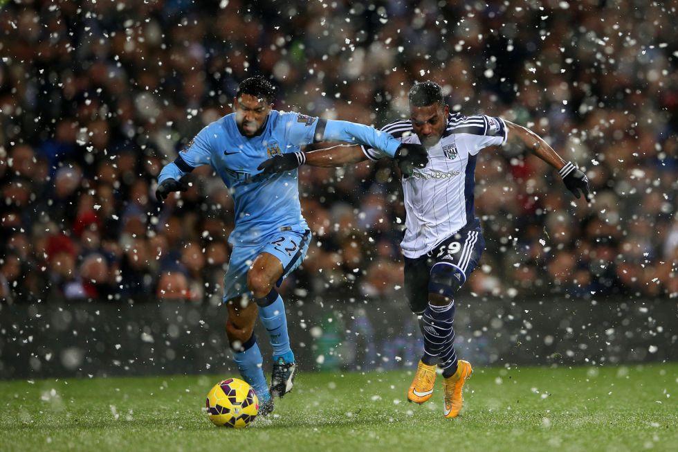El City aguanta el ritmo del Chelsea en un manto de nieve   Internacional   AS.com